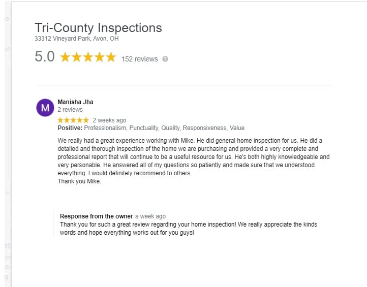 Cleveland Home Inspectors - Reviews